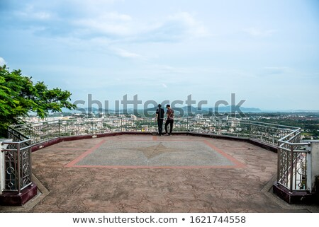 Panorama cidade mar phuket ver Foto stock © Yongkiet