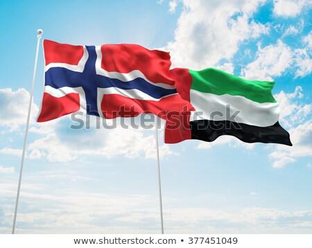 Norwegia · banderą · grunge · obraz · szczegółowy - zdjęcia stock © istanbul2009