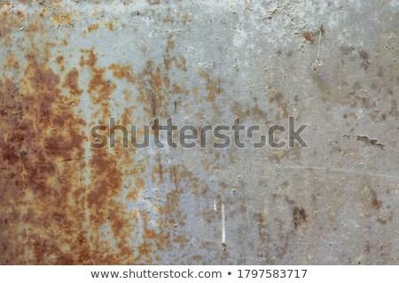 öreg · rozsdás · kés · penge · izolált · fehér - stock fotó © taigi