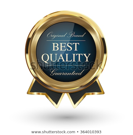 Best Quality Golden Vector Icon Button Stock photo © rizwanali3d