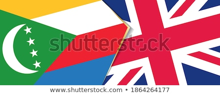 United Kingdom and Comoros Flags Stock photo © Istanbul2009