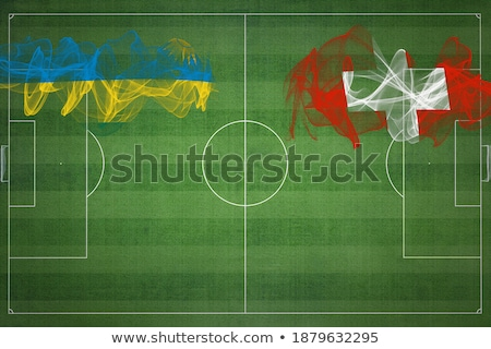 Switzerland and Rwanda Flags Stock photo © Istanbul2009
