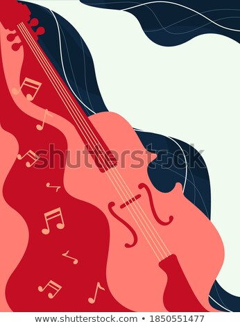 Flowing Fiddle Music Stock photo © Bigalbaloo