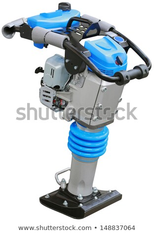 Vibration Plate Compactor Cutout Stock photo © Suljo