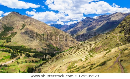 Sacred Valley of the Incas Urubamba Valley. Stock photo © alexmillos