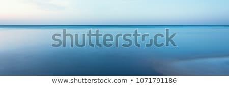 Calme mer voile bateaux bleu Photo stock © ndjohnston