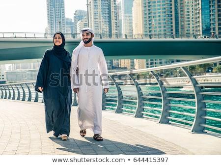 Arabic couple Stock photo © zurijeta