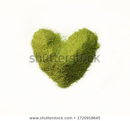 backgrund with shape of heart stock photo © dmitroza