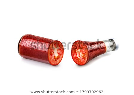 A ketchup inside the red bottle Stock photo © bluering