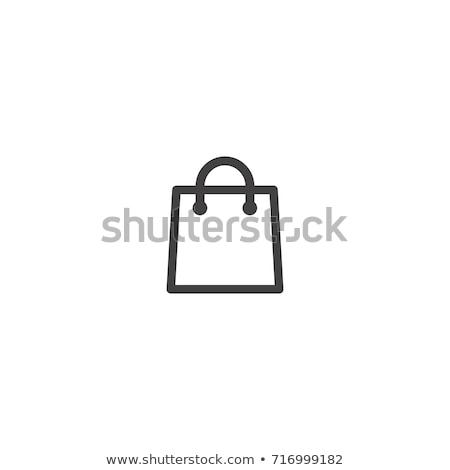 Férias saco ícones ilustração branco fundo Foto stock © bluering