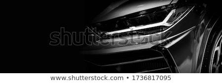grigio · auto · berlina · strada · modello · metal - foto d'archivio © bluering