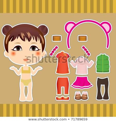 китайский бумаги кукла традиционный Сток-фото © bedo