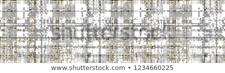 Checkered plaid textile material pattern texture Stock photo © stevanovicigor