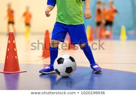 学校 スポーツ 訓練 ホール 観点 表示 ストックフォト © Kidza