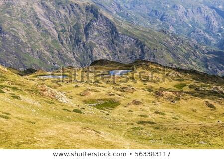 Percorso riserva montagna stagno Foto d'archivio © benkrut
