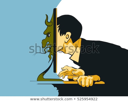 Internet Troll Stock photo © Lightsource