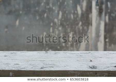 old scaffolding planks on construction site stock photo © stevanovicigor