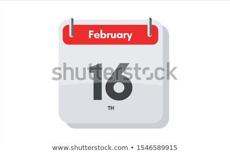 16th February Stock photo © Oakozhan