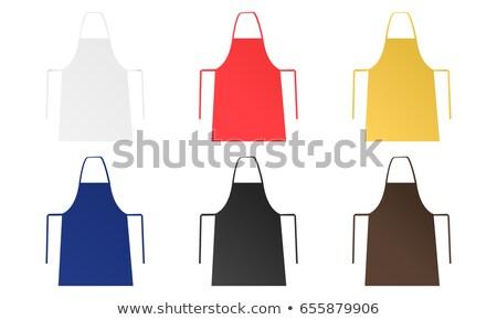 set of kitchen aprons 6 Stock photo © Olena