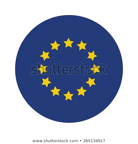 フラグ 国 ヨーロッパの 組合 eu ベクトル ストックフォト © m_pavlov