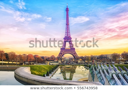 dawn in paris stock photo © givaga