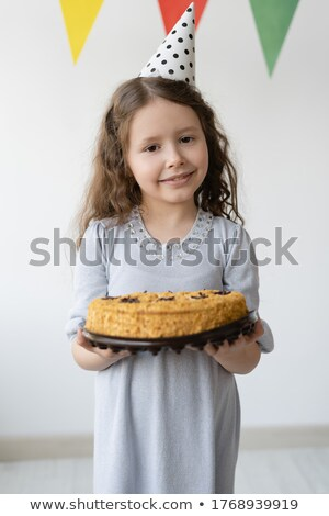 verjaardagstaart · illustratie · gelukkig · partij · kunst - stockfoto © pikepicture