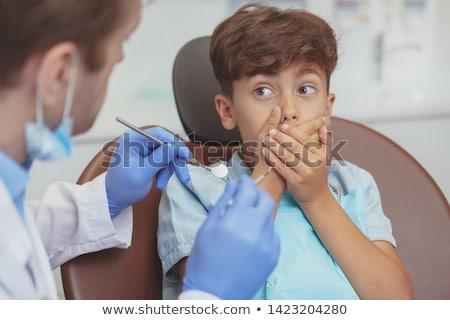 Teeth checkup Stock photo © boggy