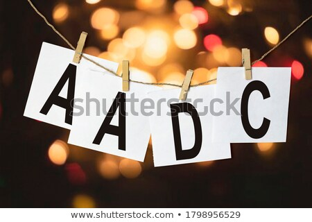Clothespin letter L Stock photo © boggy