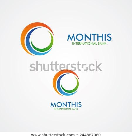 Abstrato círculo logotipo negócio coleção Foto stock © blaskorizov