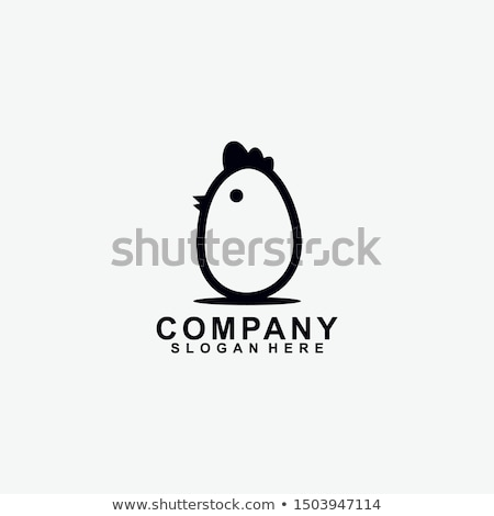 chicken egg vector element icon symbol sign Stock photo © blaskorizov