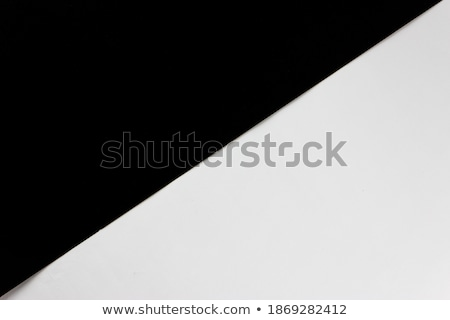 Stock photo: Brown craft paper with a diagonal black lines
