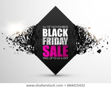 black friday poster with deals and new offers stock photo © robuart
