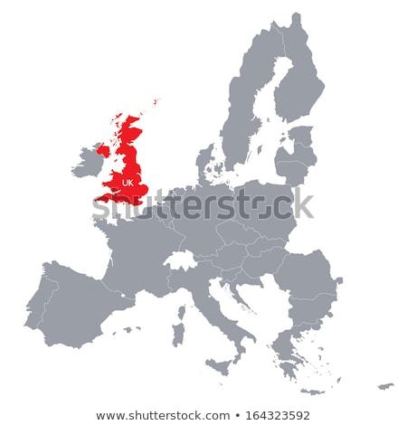 Regno Unito Europa unione abstract gran bretagna Foto d'archivio © Lightsource