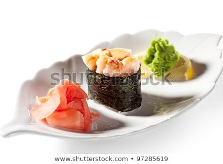 пряный · вектора · суши · цвета · наклейку · продовольствие - Сток-фото © netkov1