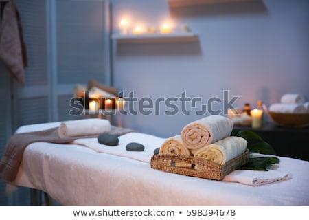 Sanitaria salone di bellezza servizi vettore addominale caldo Foto d'archivio © robuart