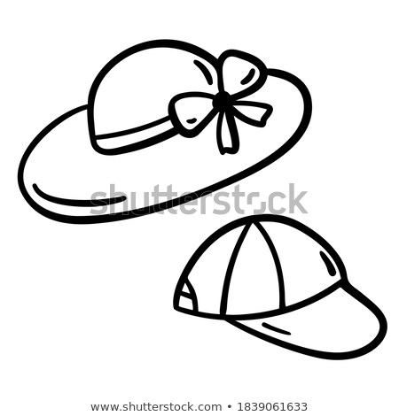 summer style fashion clothes and accessories stylized doodles stock photo © margolana
