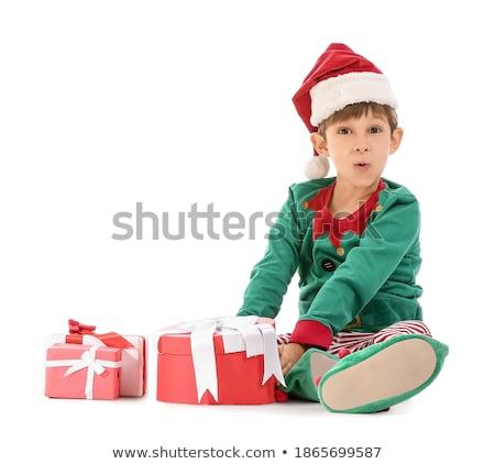クリスマス · サンタクロース · ブーツ · 芸術 · 漫画 - ストックフォト © colematt