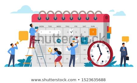 Media planning concept vector illustration. Stock photo © RAStudio