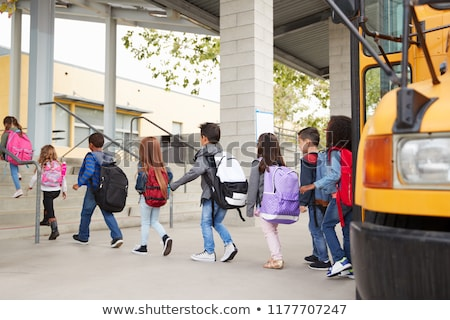 Back to School Bus for Kids Pupil Transportation Stock photo © robuart