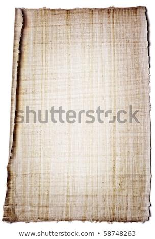 реальный письме бумаги папирус лист лист Сток-фото © lichtmeister