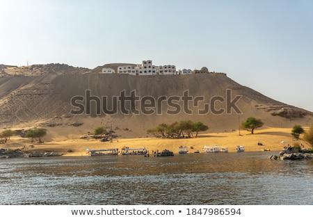 Desert near nile Stock photo © Givaga