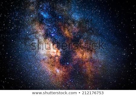 астронавт космическое пространство галактики звезды Элементы изображение Сток-фото © NASA_images