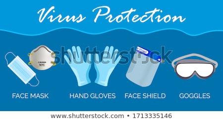 Gloves Protecting From Coronavirus Stock photo © AndreyPopov