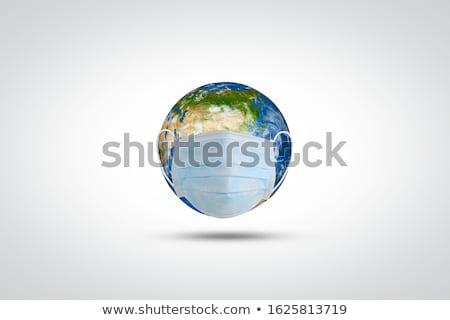 地球 コロナウイルス 攻撃 かわいい 無力な 地球 ストックフォト © Kakigori