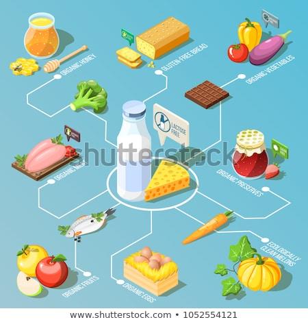 сыра молочная продовольствие изометрический вектора Сток-фото © pikepicture