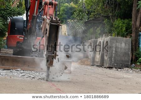 Machines for rock fragmentation Stock photo © deyangeorgiev