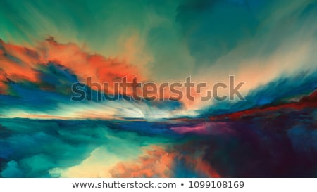 Abstract landscape Stock photo © orson