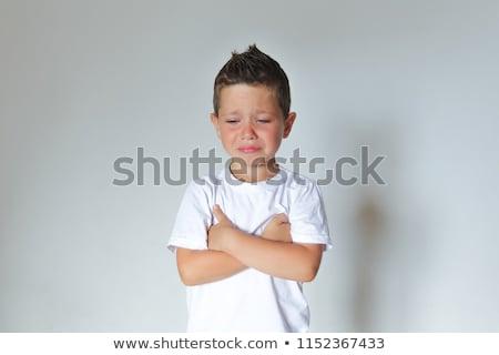 мальчика · кавказский · вечеринка · Hat · глядя - Сток-фото © lovleah
