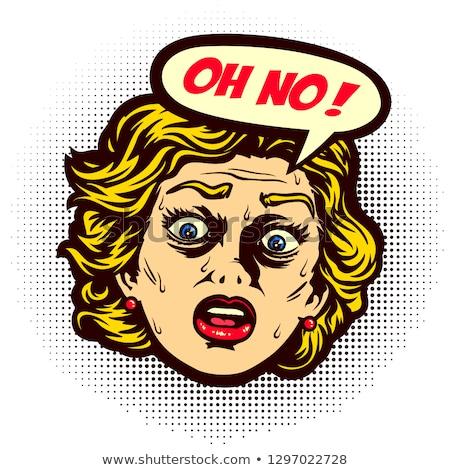 Não pânico medo fobia menino ar Foto stock © lovleah