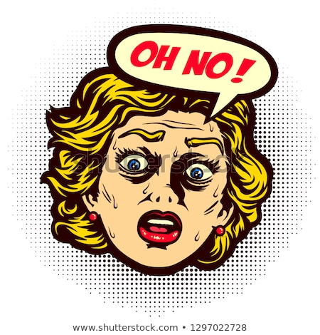 Oh no - panic fear  phobia Stock photo © lovleah